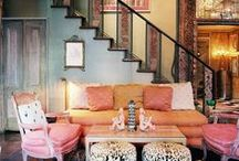 Boho Chic / A free spirited space where an organic lifestyle can thrive. Don't conform to the norm!