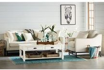 Magnolia Home: Industrial / From the mind of Joanna Gaines... This genre is bold and holds purpose. These pieces come with a strength and a story that inspires the practical side of a room. Industrial pieces came from a place where hard work was happening and are characterized by their signature worn-in, repurposed look. / by American Signature Furniture