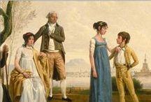 Vestuario femenino de comienzos del S. XIX