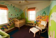 Play Rooms & Nurseries / Check out these fun & beautiful ways to decorate your child's room! / by Franklin Goose