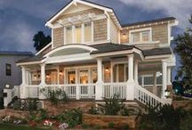 Dream House / Wonderful house ideas. Floor plans, design ideas, awesome products. / by Anna Hamblen