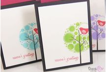Creative Cards / Nothing like a hand made card to cheer you up. / by Kylie Cornish