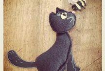 BLACK CATS / black cats in picture books, kidlit ; chats noirs dans la littérature jeunesse