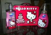 Hello Kitty  / My obsession for hello kitty on Pinterest.  / by Sara Cramer