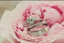 Engagement Rings & Wedding Jewelry / Engagement, wedding ring, and wedding jewelry inspiration