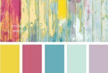 Colour Palette / colours inspire the world.
