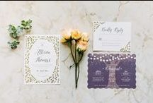 Wedding Invitations and Programs / Save-the-Date, wedding invitation, and wedding program inspiration