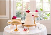Wedding Cakes, Desserts, & Food / Wedding cakes, wedding desserts, and wedding cuisine inspiration