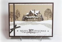 Christmas Cards Stampin Up  / by Penny Graves