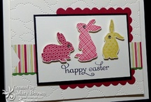 Easter Stampin Up Cards / by Penny Graves