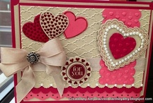 Valentine's Day Stampin Up Cards  / by Penny Graves