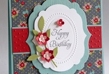 Birthday Stampin Up Cards  / by Penny Graves