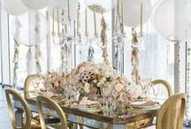 Beauty of Entertaining / Backdrops, Garlands & Hanging Decor / by Jinny Pabon