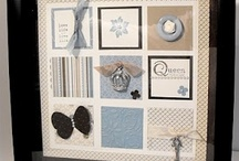 Stampin Up Framed Collage / by Penny Graves