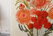Modern Embroidery / Beautiful embroidery examples