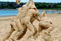 Escultura na Areia \-/ Sand Sculpture / by J Lourenco