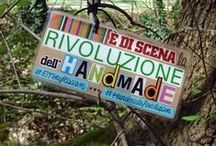 Handmade Revolution / I'm an italian #indie #crafter and I love #handmade #products. I've got the honor to know a lot of talented crafters from every part of #Italy, their amazing works and our similar philosophy: I want to share them with you! :-D #MadeInItaly #HandmadeRevolution