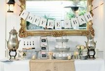 Themed Party: Coffee and Cupcakes