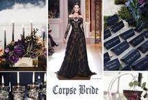 Wedding: Corpse Bride Inspired Wedding