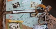 Travel Journal Scrapbook Ideas / Take an amazing trip and want to document it?  Here are some great travel journal scrapbook ideas to help preserve all your special vacation memories.  For more ideas, please visit http://creativelyhomemade.com/category/crafts/memory-keeping/