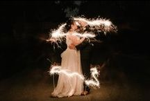 Wedding Send-Offs / Spectacular send-offs at the close of the reception!