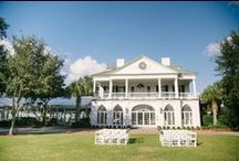 Lowndes Grove Plantation Weddings / Lowndes Grove Plantation is located along the beautiful Ashley River in historic Downtown Charleston. It is a gorgeous National Historic Landmark that was restored in 2007 to serve as the perfect lowcountry event venue. It offers groves of gorgeous live oaks, beautiful water views and a meticulously restored plantation home where charm abounds.