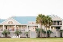 Citadel Beach House Weddings / Nestled away on the Isle of Palms thirty minutes from downtown Charleston, the Citadel Beach House is a lovely waterfront venue. The House features two beautiful locations available for events, the indoor Ballroom and outdoor Blue & Grey Pavilion.