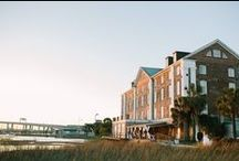 Historic Rice Mill Weddings / Overlooking beautiful Charleston Harbor, the Historic Rice Mill is one of Charleston's most unique wedding venues. The mill is easily adaptable for weddings and receptions and unique features inside and out offer a truly one-of-a-kind wedding experience.