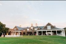 Kiawah Island River Course Weddings / An hour southwest of Charleston lies Kiawah Island, one of South Carolina's premier vacation destinations. As golfing dominates Kiawah, the Kiawah Island Golf Club is always in-demand, especially for weddings. The River Course Clubhouse is especially magnificent with its breathtaking views and open, airy atmosphere.