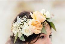 Bridal Hair & Make-Up / Bridal hair and make-up inspiration ideas for brides-to-be