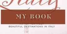 Book: Italy, A  Romantic Journey #fineart #photography #destination wanderlust / Breathtaking images of Italy's most romantic destinations They  say  that instead of resting, on the 7th day,  God  created  Italy — the rolling hills of Umbria and Tuscany, the endless fields of Puglia, the majestic cliffs and beaches of the Amalfi Coast. Fine art photographer Rochelle Cheever has spent more than a decade scouting the most romantic and evocative locations in this beautiful country.