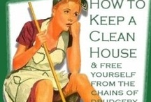 Cleaning / by Stephanie Heiner
