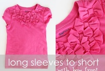 Clothes Repurposing / by Stephanie Heiner