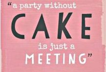 Party Animal {Celebrate!} / Party decor, food & drink, cake ideas  / by Holly Laine