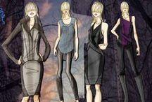 Fashion Illustrations / by Rose Casino