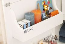 Organize-tips and tools I use / organizational tools / by Tammy- Ambrosia's Attic