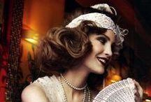 Gatsby / Jazz era fashion. 1920's fashion. Great Gatsby Style. Flapper