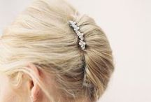 Hair Fashion & Hair Accessories / Hair styles,hair accessories, hair barrettes, french barrettes. / by Dee Glass