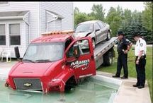 Laugh a Little. / Jokes relating to the towing industry.