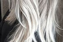 Silver crown / Grey hair