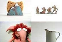 Etsy Delights / This board is for works that I admire from other Etsians, both handmade and vintage.