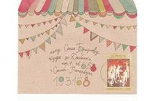 Postal / Mail art and postage stamps and note cards and letter writing . . . that sort of thing