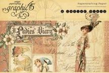 A Ladies' Diary  / by Graphic 45®