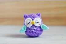 crochet patterns {free} / ♥ links with free patterns of cute amigurumi and crocheted stuff I love ♥ / by Sandra Meinlilapark