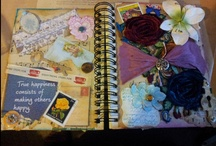 Journals and books by me. / by Louise Houghton