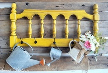 Repurpose / Join the Family Fun of creative repurposing or recycling.  / by Mattie May