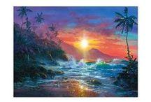 James Coleman-Christian Artist / Beautiful tropical paintings.