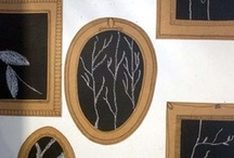 44. Chalkboard + Typography + Frames / by Sam ♥