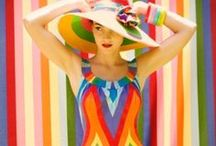 Fabulous Bold Fashion / Fun, inspiring, bold fashion that POPS with color and texture! / by Betz White