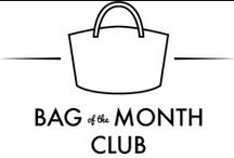 Bag of the Month Club / Bags made from patterns included in the 2014, 2015 and 2016 Bag of  the Month Club
